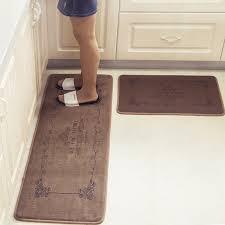 kitchen floor mats. Interesting Kitchen European Retro Fashion Kitchen Floor Mats Super Soft Water Absorbent And  Antiskid Rug Bathroom Doormat With