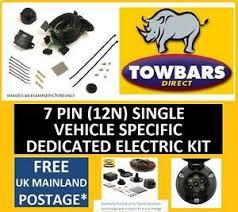towbar wiring kit pin for nissan navara d to  image is loading towbar wiring kit 7 pin for nissan navara