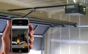 open garage door with iphoneOpen my Garage with my Iphone  Overhead  Garage Door Parts
