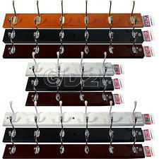 6 Hook Wall Coat Rack 100 Hook Wall Mounted Coat Rack Hat Clothes Hanging Hanger Robe Holder 79