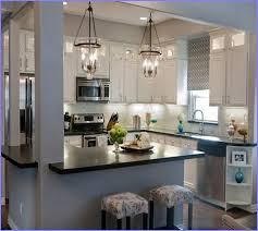 replace fluorescent light fixture within kitchen in kitchens design 8