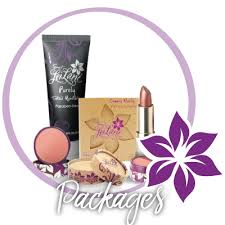 vegan camouflage makeup packages