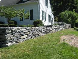 natural stone walls can create the perfect look when done right