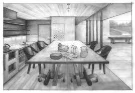 kitchen drawing perspective.  Kitchen Kitchen Perspective By Aneesah  For Drawing H