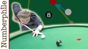a game for the elliptical pool table numberphile
