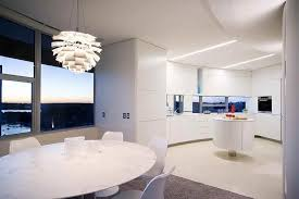 modern interior design apartments. Large Size Of Apartment: Elegant Minimalist Apartment Interior With Round Dining Table And Mirror Windows Modern Design Apartments R