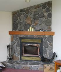 Unique Stone Wall Fireplaces Design Gallery