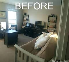 office guest room ideas. Nice Looking Small Home Office Guest Room Ideas With Bo Decor V