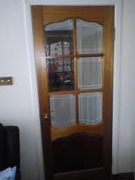 3 doors hardwood bevelled safety glass 1 no 2040 x826 2 no
