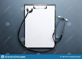 Medical Record Chart Supplies Medical Equipment And Technology Concept Case History And