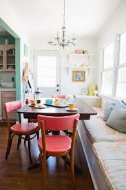 love how this fits into an older home s layout bench banquette with chairs in breakfast study nook