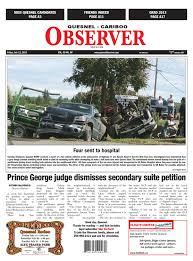 Quesnel Cariboo Observer July 11 2014 By Black Press Issuu