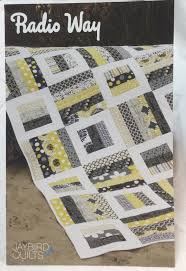 16 best Quilt Patterns images on Pinterest | Meditation, Quilt ... & Radio Way Quilt Pattern by Jaybird Quilts JBQ 116 in (jellyroll) strip  friendly quilt pattern. Quilt pattern has 4 different sizes: baby, lap,  twin and king ... Adamdwight.com