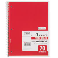 2 inch notebooks mead notebooks webstaurantstore