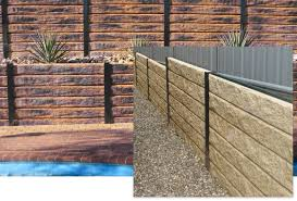 sleepers can be cut to any length to complete your wall engineering specifications are available from your supplier of trojanstone retaining wall systems