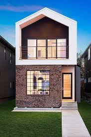 Small Picture Fachadas de casas estreitas Architecture Modern small house