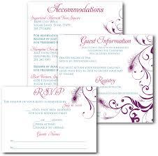 Wedding Invitation Inserts Templates Under Fontanacountryinn Com