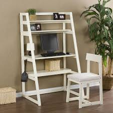 ladder desk with shelves white stanton style writing and uk ladder desk with shelves ladder style