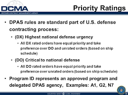 Defense Priorities And Allocations System Dpas Training