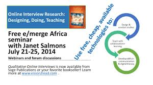 online interview research designing doing teaching janet salmons phd has been an online graduate faculty member at capella university school of business and technology since 1999