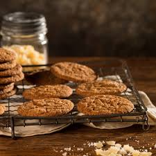 ginger cookies with black pepper