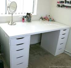 white desk with storage best makeup vanity desk ideas on vanity tables white desk with storage