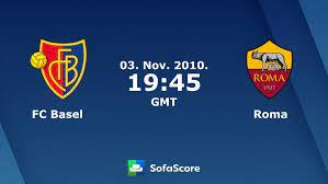 FC Basel Roma Live Ticker und Live Stream - SofaScore