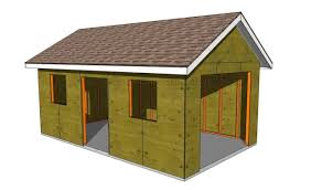 18 Free DIY Garage Plans With Detailed Drawings And InstructionsOutdoor Garage Design
