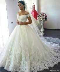 beautiful arabic wedding dresses 2017 designers off shoulder cap