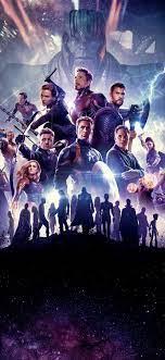 2019 movie, Avengers 4: Endgame, Marvel ...