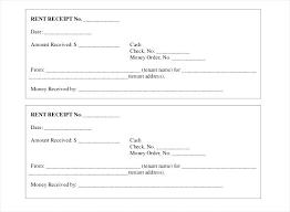 Rent Receipt Template Excel Form Sample Rental 9 Free Word Apvat Info