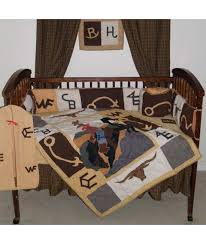 western brands crib bedding set