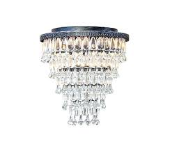 interiors light tapered glass drop crystal