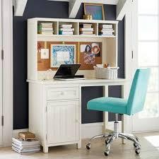 office desk idea. Beadboard Space Saving Desk Hutch Girl S Office Pinterest With Regard To Desks Ideas 17 Idea