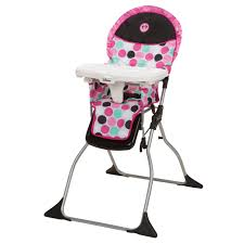 minnie mouse dotty simple fold plus high chair from safety 1st