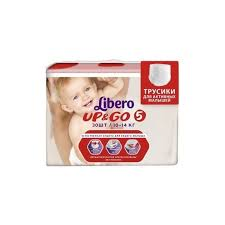 ᐅ <b>Libero трусики Up</b> & <b>Go</b> 5 (10-14 кг) 30 шт. отзывы — 18 ...