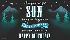 Happy Birthday Son Postcard American Greetings