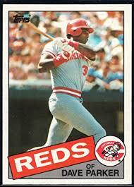 Baseball MLB 1985 Topps #175 Dave Parker Reds ... - Amazon.com