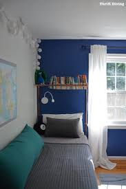 boys blue bedroom. Tween Boys Blue Bedroom Makeover - Turn A Room Into Cozy Using Behr