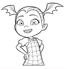 Vampirina Coloring Pages Vampirina Da Colorare