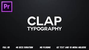 typography templates rhythmic typography opener premiere pro templates motion array