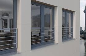 Absturzsicherungen Für Bodentiefe Schüco Kunststoff Fenster