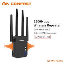 Satın Al <b>COMFAST 1200</b> Mbps Ev Kablosuz Genişletici Router <b>Wifi</b> ...