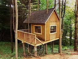 appealing simple treehouse plans designs wooden global
