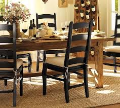 black dining room table pottery barn. full image dining room pottery barn paint colors oversized bolts on the legs pb comfort slipcovered black table a