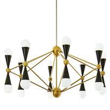 chandeliers jonathan adler ventana chandelier rectangle brass modern chandeliers light throughout prepare 0 4