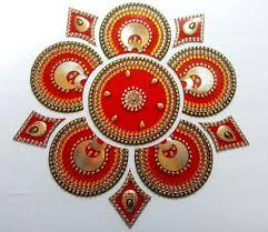 Kundan Rangoli Designs Small Rangoli Indian Wedding Diwali Decor Hindu Kundan Rangoli