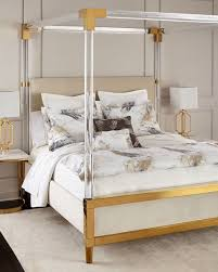 Acrylic Furniture - Silver Bedroom Furniture