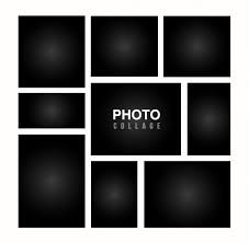 Template For Picture Collage Photo Collage Template Vectors Photos And Psd Files Free