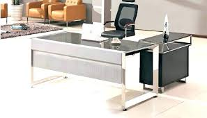 computer table design for office. Office Table Design Side Glass Desk Modern Top With Computer For